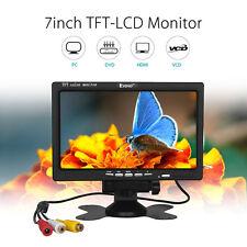 "EYOYO S720 1024*600 7"" 1080P Camera PC DVD Video LCD Monitor Display VGA AV HDMI"
