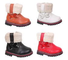 Winter-Schuhe für Mädchen aus Synthetik mit Reißverschluss
