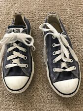 Converse Canvas Low Top Sneakers Boys Or Girls Size 12.5