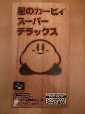 Hoshi no Kirby Super Deluxe Super Famicom Jap Japanese BRAND NEW