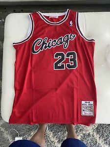 NEW Michael Jordan Hardwood Classics Rookie Jersey XL