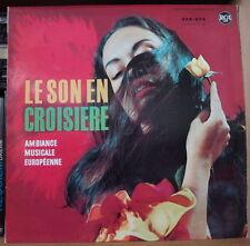 PAUL DURAND ET LE GRAND ORCHESTRE DE PARIS LE SON EN CROISIERE  FRENCH LP