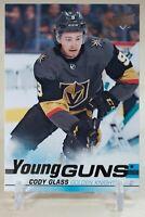Cody Glass Young Guns 2019-20 Upper Deck YG Rookie #237 RC Vegas Golden Knights