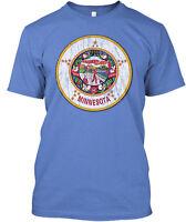 Minnesota State Flag Premium Tee T-Shirt