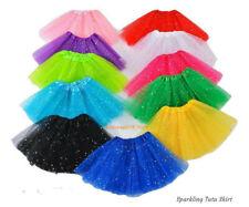 High Quality New Tutu Skirt LADY WOMEN GIRLS KIDS  Fancy Dress Party (Sparkling)