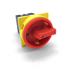 Hauptschalter 16A 4 polig fronteinbau Drehschalter Trenn 4P16A-E Schalter ARLI