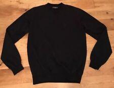 """D & G Homme Coton Bleu Marine Sweat UE 54 XL Costume 42"""" -44"""" tour de poitrine Italie"""