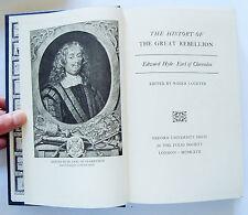 HISTORY OF THE GREAT REBELLION Edward Hyde Clarendon slipcase Folio Society 1967