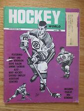 BOBBY ORR Hockey World (November 1968) Magazine BOSTON BRUINS