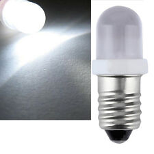 E10 LED Screw Base Indicator Bulb Cold White 24v DC Illumination Lamp Light Im