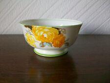 Vintage Aynsley Yellow Roses Footed Bone China Sugar Bowl, Dia.12.5cm, Ht 6.5cm