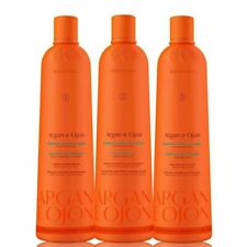 Richee Professional Argan e Ojon Brazilian Keratin 3x 1000ml / 33.8 fl oz
