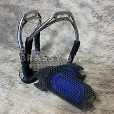Steigbügeleinlagen für Bow Balance Sprenger schwarz//blau NEU