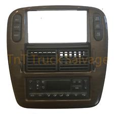 02 - 05 Ford Explorer Digital Climate Control 4x4 Radio Bezel W/ Switches OEM