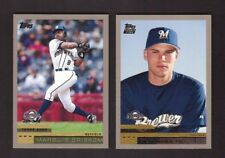 2000 Topps - MILWAUKEE BREWERS - Team Set w/ Traded & Rookies 17 Cards Mint