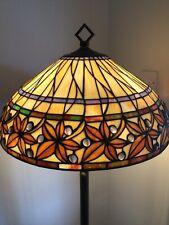 Tiffany Style Floor Lamp - Gold
