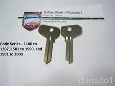 Key Blank for Vintage Alfa Romeo - Fiat 1967 to 1983 - doors/trunk  (FT37)