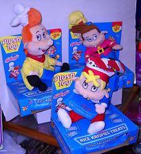 #4604 Kellogg's Rice Krispies Cereal Snap, Krackle & Pop Advertising Plush Dolls