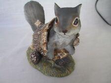 Homco Figurine Masterpiece Porcelain Squirrel 1986