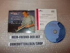 CD canzonette Remo frankello-pescatori di Santa Marina (2) canzone BMG + presskit