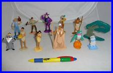 RARE SET 12 Figures POCAHONTAS from PANINI ITALY Large Cute Original Official !