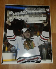 JONATHAN TOEWS CHICAGO BLACKHAWKS SIGNED 16x20 PHOTO