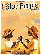 THE COLOR PURPLE BROADWAY MUSICAL SHEET MUSIC SONG BOOK
