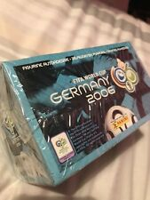 Panini World Cup Germany 2006 Mint Sealed Box 100  x Sticker Packets.
