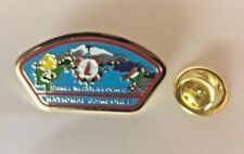 Boy Scout 1997 National Scout Jamboree Daniel Webster Council Tie Tack Pin Badge