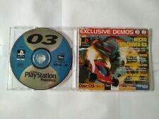 Official UK PlayStation 1 Magazine Demo 03 3 Vol. 2 ~ MONSTER TRUCKS ~ EXCALIBUR