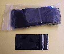 100 Tütchen Polybeutel 40 x 60 schwarz black Druckverschlussbeutel Zip Tüten