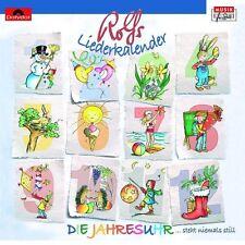"""ROLF ZUCKOWSKI """"ROLFS LIEDERKALENDER DIE JAHRESUHR"""" CD"""