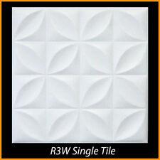 Ceiling Tiles Glue Up Styrofoam 20x20 R3 White Pack of 8
