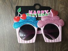 Happy Birthday Cup Cake Sunglasses from Primark BNWT