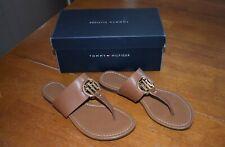 Women's Light Brown Tommy Hilfiger Sandals - Size 8