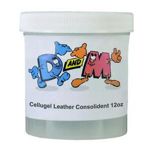 CELLUGEL helps preserve & restore leather book bindings - 340g jar