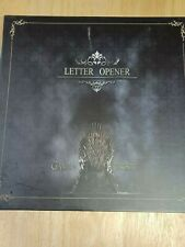 More details for game of thrones 5 piece letter opener sword set (ice, needle, longclaw + more)