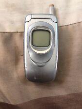 Samsung SGH A800 - Locked To O2 Network - Silver