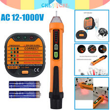 Spannungsprüfer Phasenprüfer Stromprüfer Durchgangsprüfer Tester PM8908C 50//60Hz
