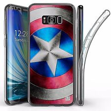 For Samsung Galaxy S8 Plus,Tri Max Transparent Full Body Case Cover STAR SHIELD