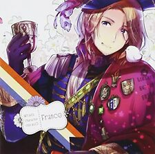 Hetalia Character CD II Vol.5 France Japan Anime Music CD F/S w/Tracking# Japan