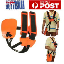 Universal Double Shoulder Strap Harness For Brushcutter Whipper Snipper Trimmers