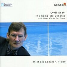 CYRIL SCOTT: THE COMPLETE SONATAS AND OTHER WORKS FOR PIANO NEW CD
