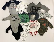 d9c3ac92f LOT OF INFANT/BABY BOY CLOTHES - OLD NAVY/CARTERS/CLOUD ISLAND/