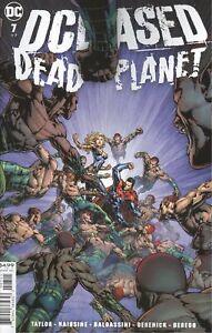 DCEASED DEAD PLANET #7 COVER A DAVID FINCH VF/NM 2021 DC COMICS HOHC