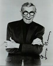 More details for george burns original hand signed autograph photograph actor comedian