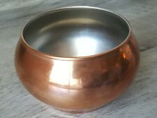 1984 F.T.D.A. Copper Bowl Made From Taiwan
