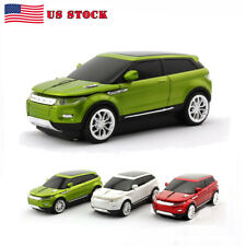 HOT 2.4Ghz SUV Car Shaped Wireless Mouse Optical USB Mice LED for PC Laptop MAC