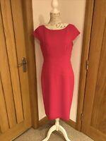 LADIES CERISE M&S COLLECTION DRESS SIZE  14
