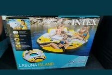 New Intex Inflatable Laguna Island Party Float, Inner Tube Raft